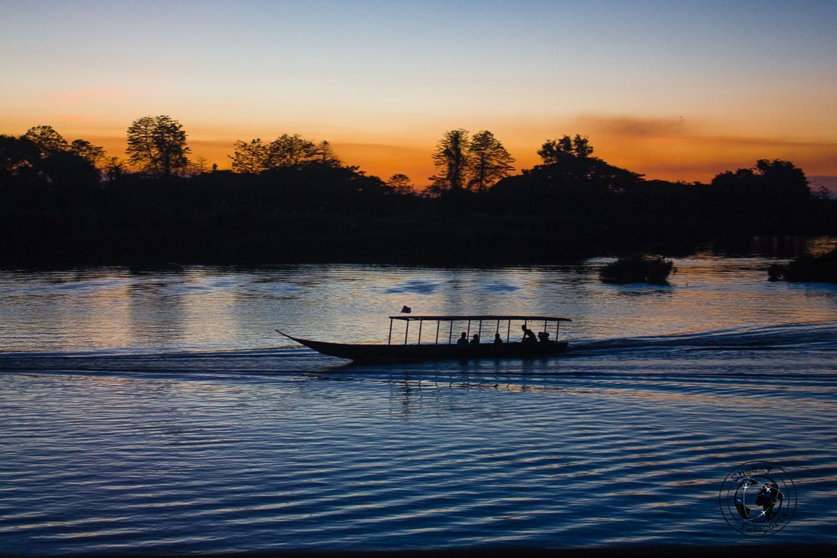 Don Det Sunset Side - 4000 islands - Things to do while backpacking in Laos