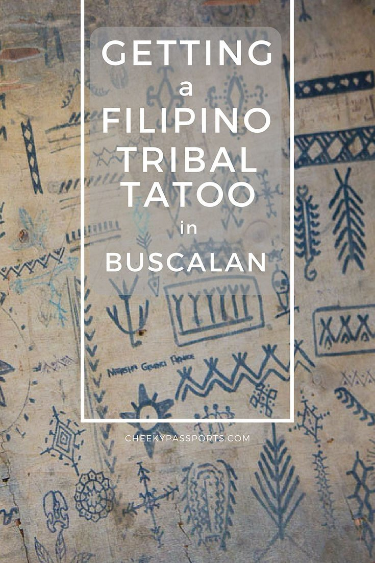 Getting A Filipino Tribal Tattoo In Buscalan Cheeky Passports