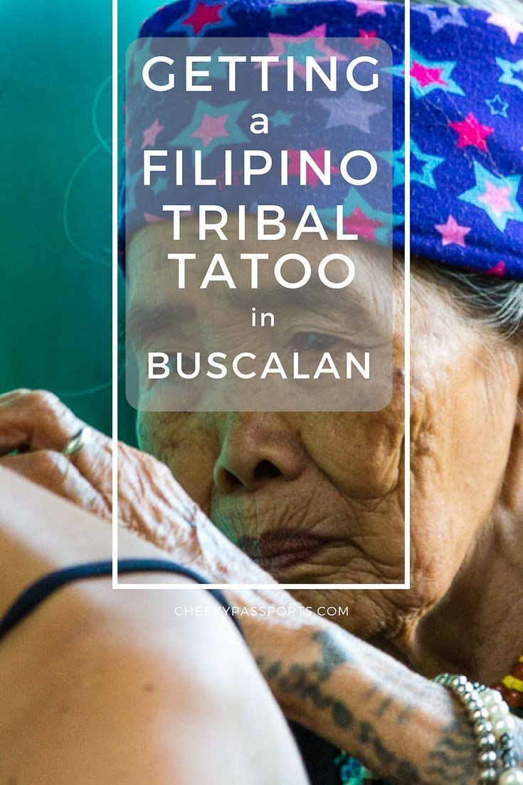 Getting a Filipino Tribal Tattoo in Buscalan - Buscalan is famous for being home to the legendary Whang-Od. Here's how to get a Filipino tribal tattoo from the Kalinga tribe in Buscalan, the Philippines. #whangod #kalinga #tribaltattoo #tattoo #philippines #itsmorefuninthephilippines #tourist #travel #traveladdict