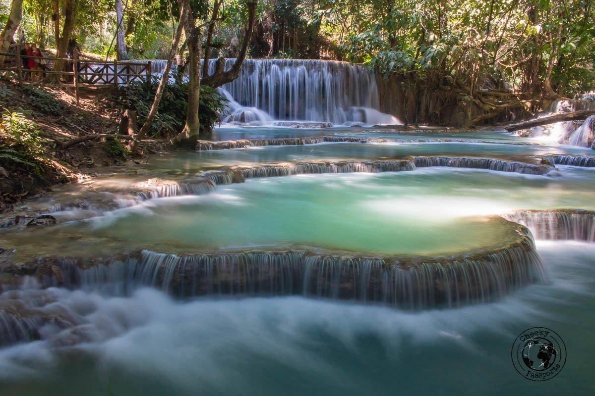 Kuang Si Falls in Luang Prabang - Things to do while backpacking in Laos