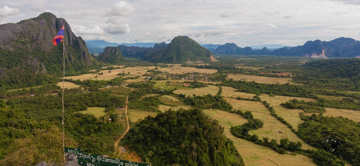 Nam Xay viepoint in Vang Vieng - Things to do while backpacking in Laos