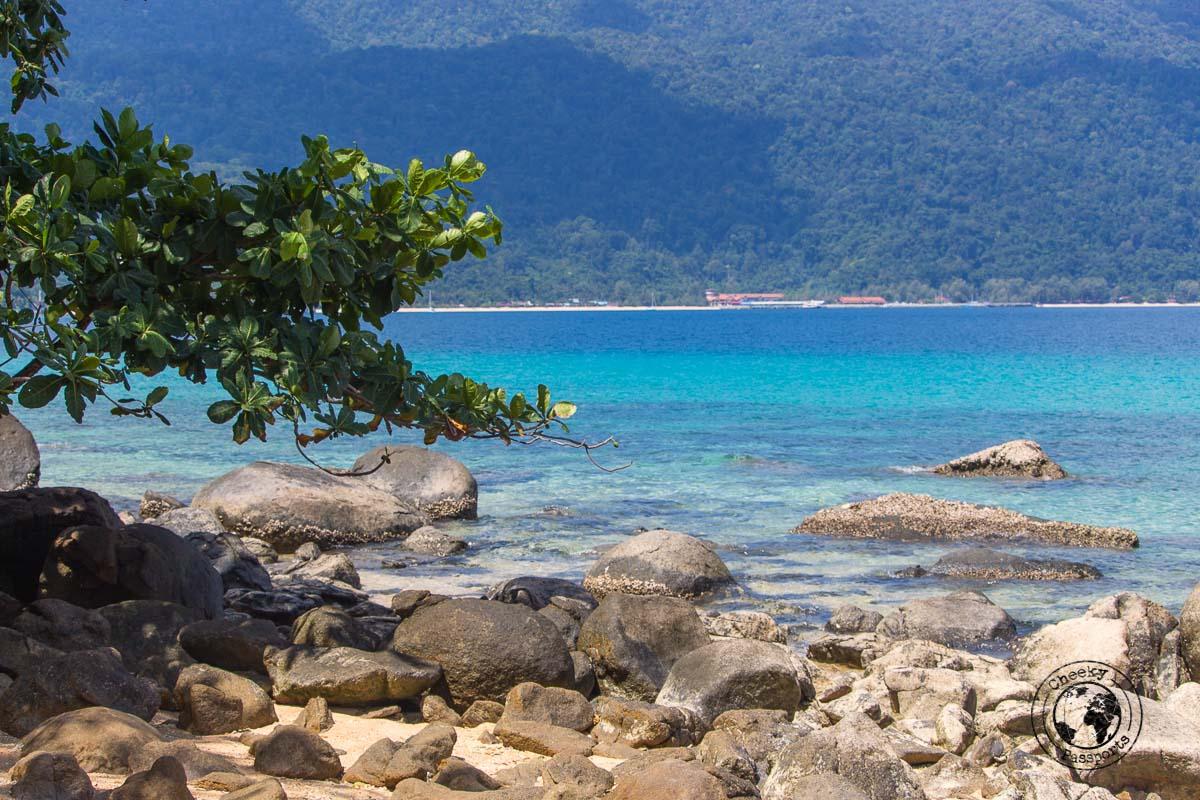Rocky beaches at Tioman - What to do in Tioman Island - Beaches, Monkeys and Jungle treks