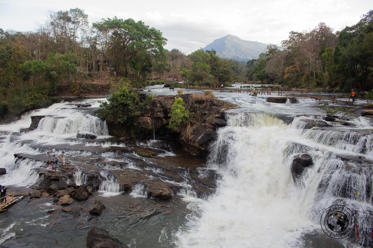 Tad Hang Waterfall - Itinerary for Biking the Bolaven Plateau Loop