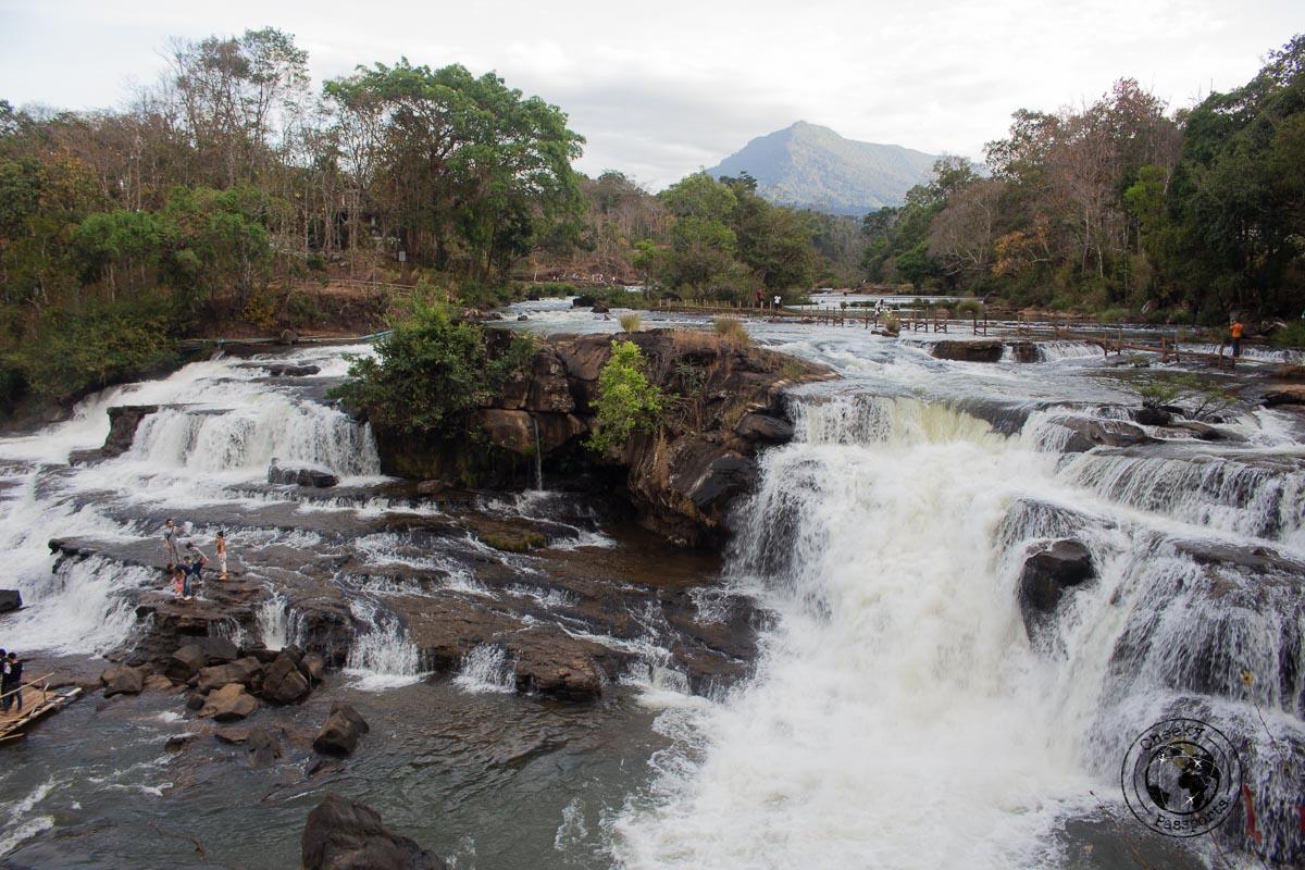 Tad Hang Waterfall - Itinerary for Biking the Bolaven Loop