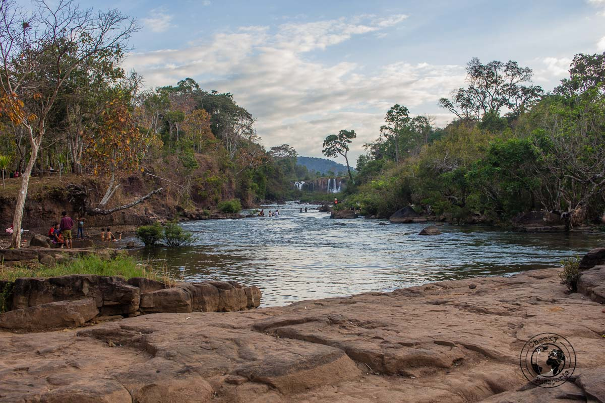 Tad Lo waterfall - Itinerary for Biking the Bolaven Loop