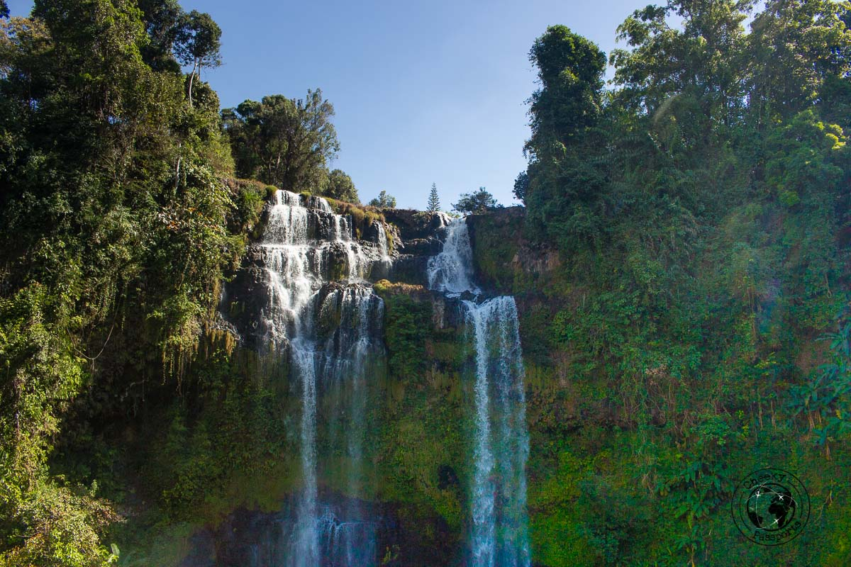 Tad Yuang - Itinerary for Biking the Bolaven Plateau Loop