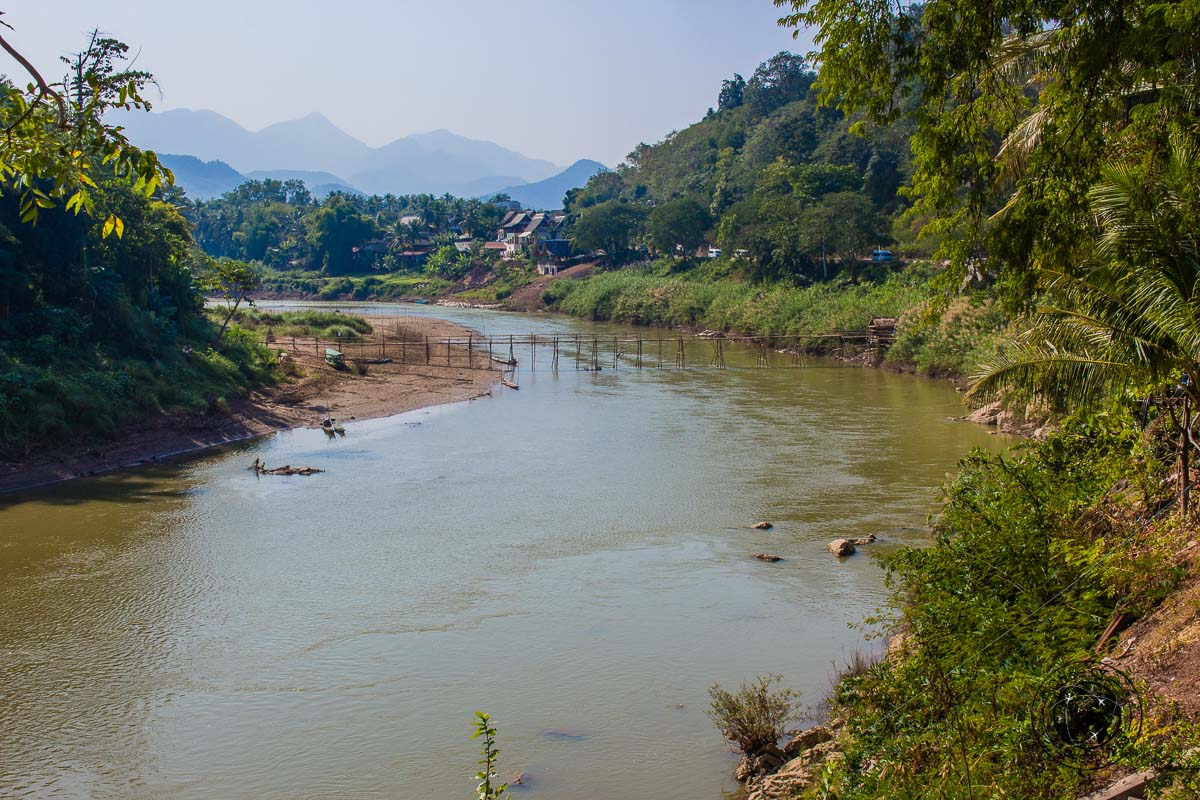 The Mekong - Things to do while backpacking in Laos