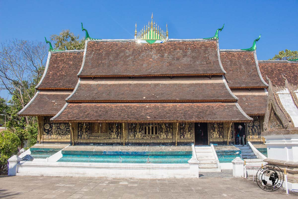 Wat XiengThong in Luang PrabangWat XiengThong