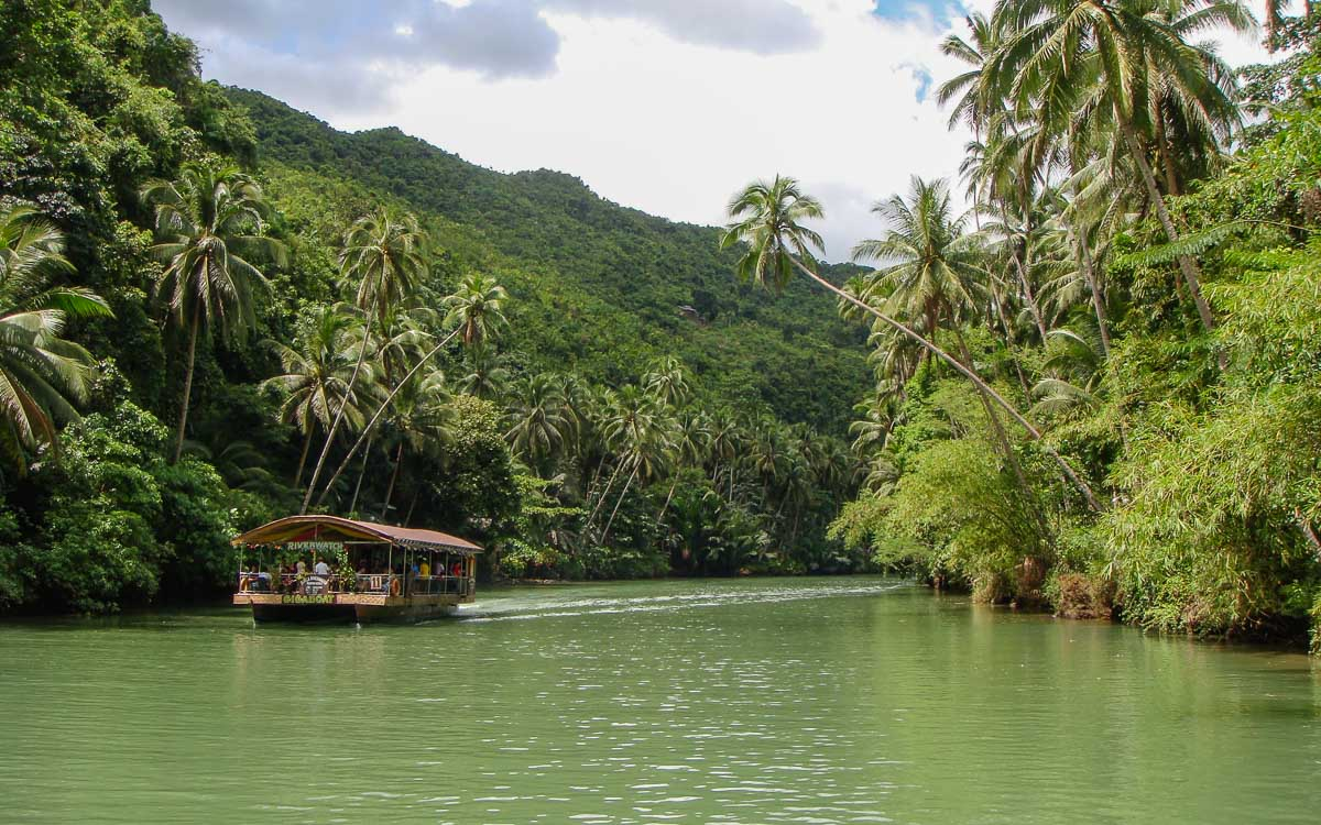 River Cruise - The Best Bohol Tourist Spots - Our Guide to Bohol - photocredit -Michellesimtoco