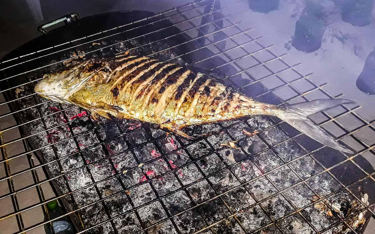 BBQ fish, a delicacy of the Maldives