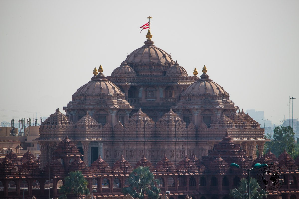 Akshardham - Backpacking in Delhi - Delhi Sightseeing by metro