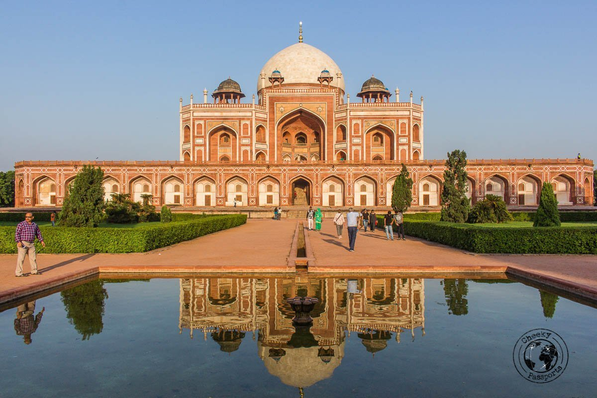 Humayun's Tomb - Backpacking in Delhi - Delhi Sightseeing by metro