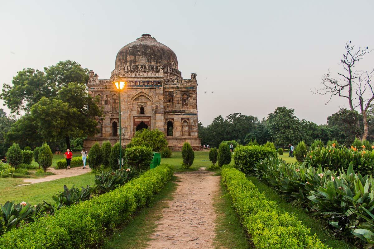Lodhi Gardens - Backpacking in Delhi - Delhi Sightseeing by metro