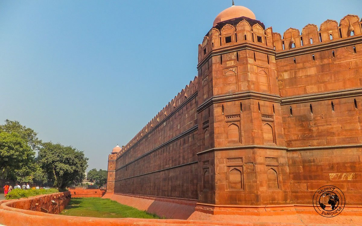 Red Fort - Backpacking in Delhi - Delhi Sightseeing by Metro