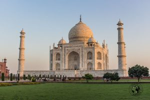 Side View of the Taj Mahal - Your Guide to Seeing Sunrise at Taj Mahal
