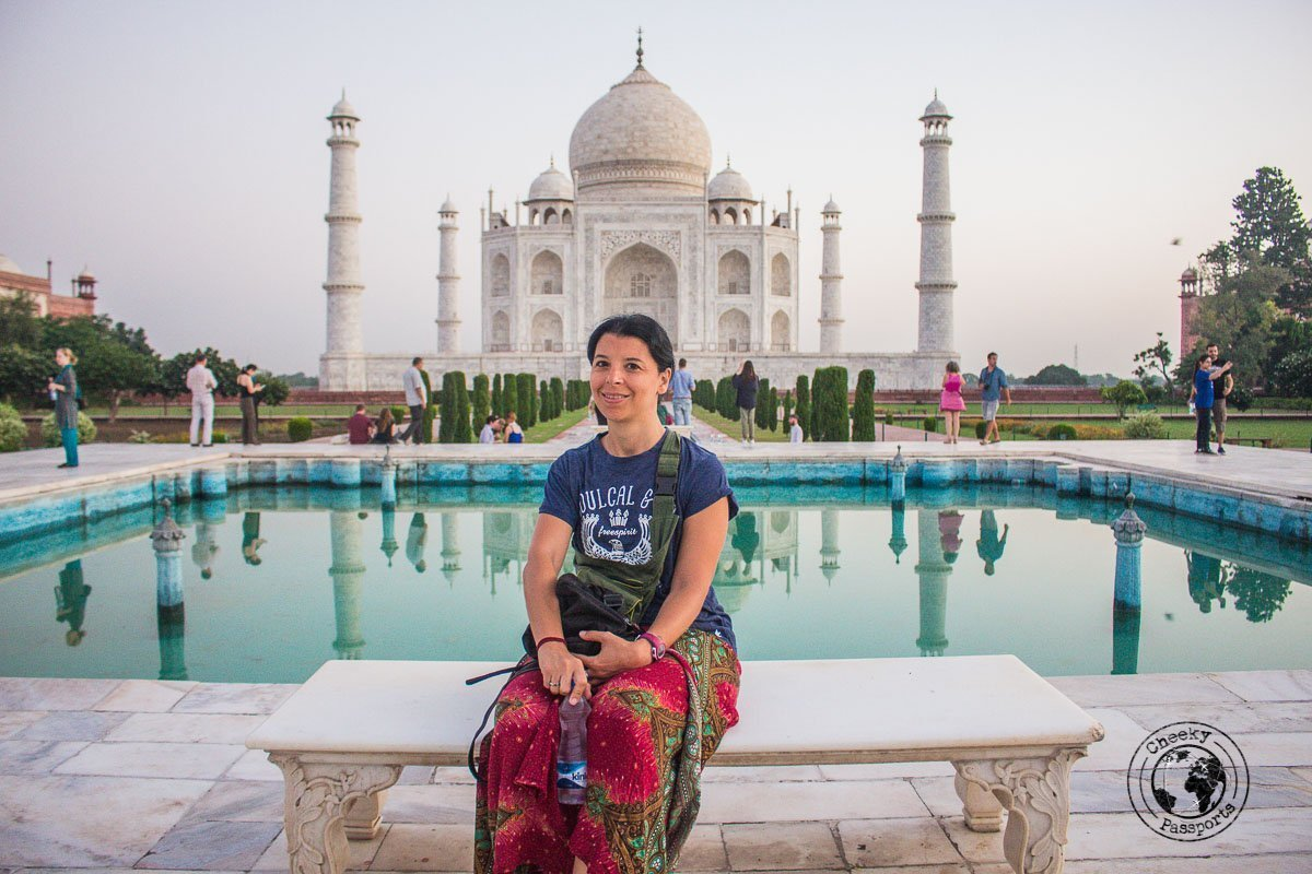 Some instagram moments with the Taj Mahal - Your Guide to Seeing Sunrise at Taj Mahal