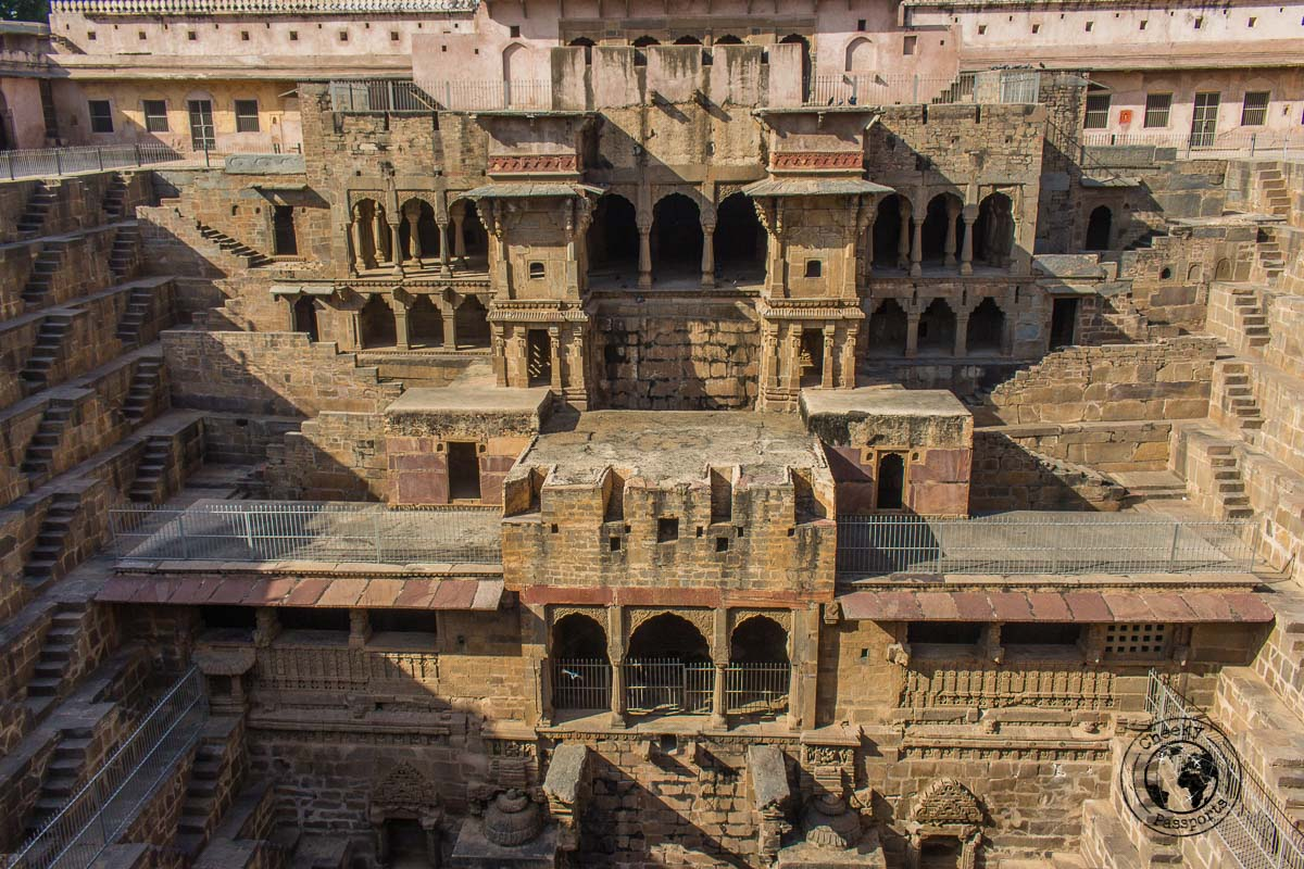Chand Baori Stepwell - The Best Tourist Places in Jaipur