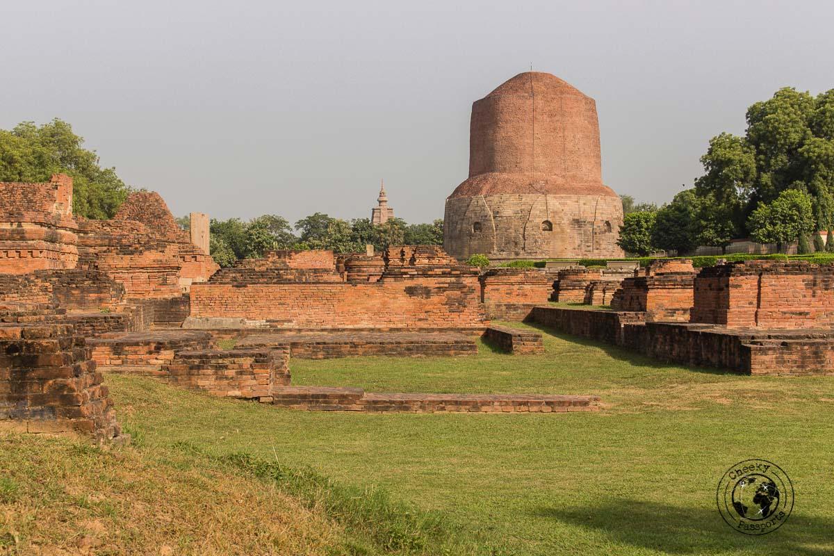 Dhamek Stupa at Sarnath - Things to do in Varanasi