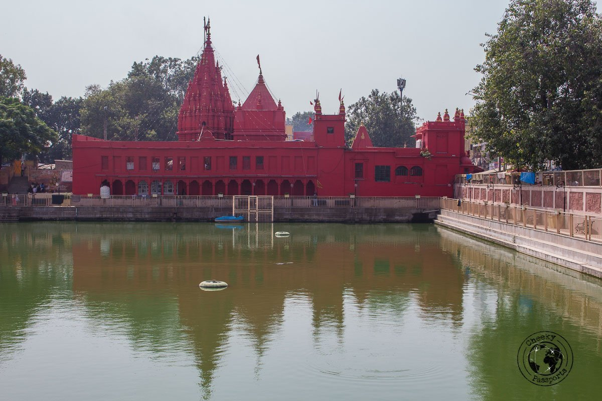 Durga Temple or Monkey Temple in Varanasi