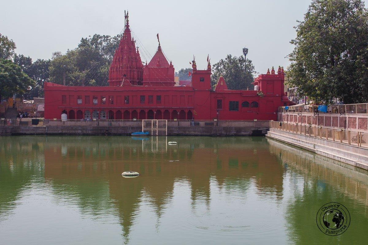 Durga Temple or Monkey Temple in Varanasi