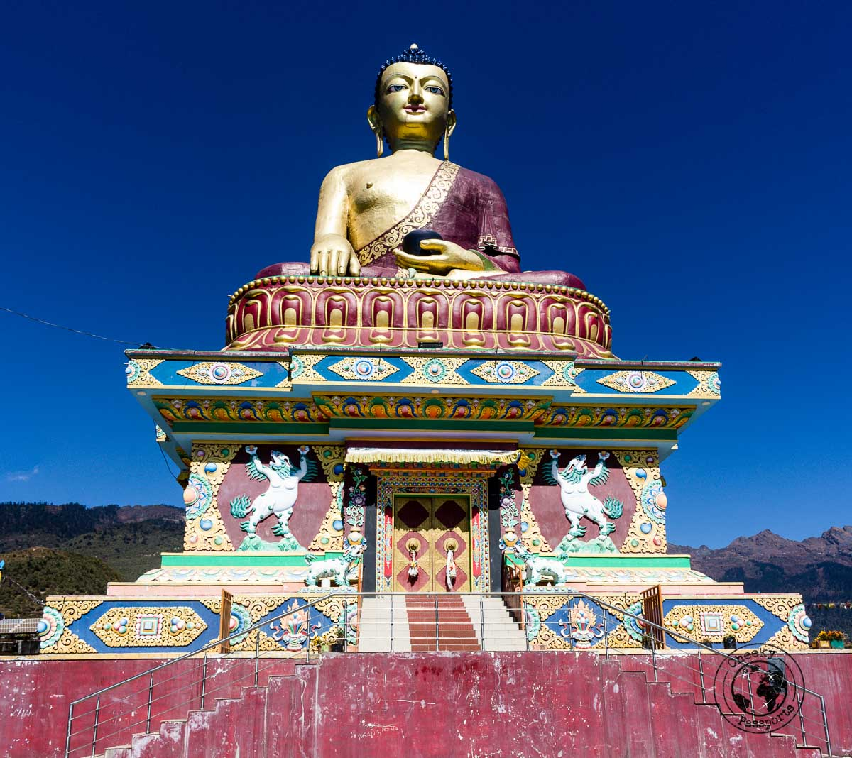Girant Buddha statue in Tawang - Guide to Sela Pass, Tawang Monastery and other Places to Visit in Tawang