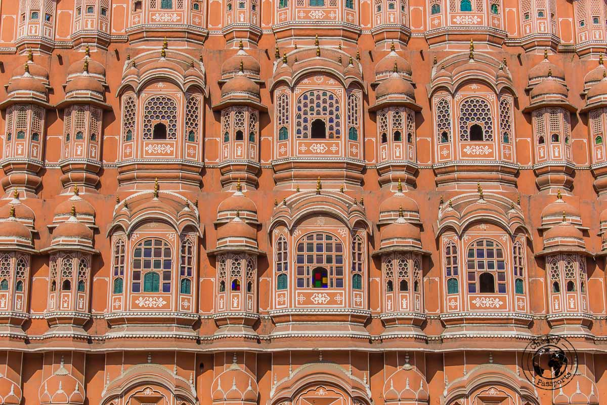Hawa Mahal windows - things to do in Jaipur