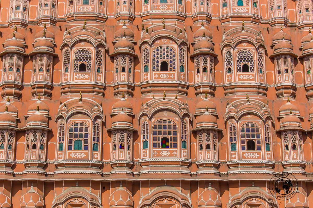 Hawa Mahal windows - things to do in Jaipur