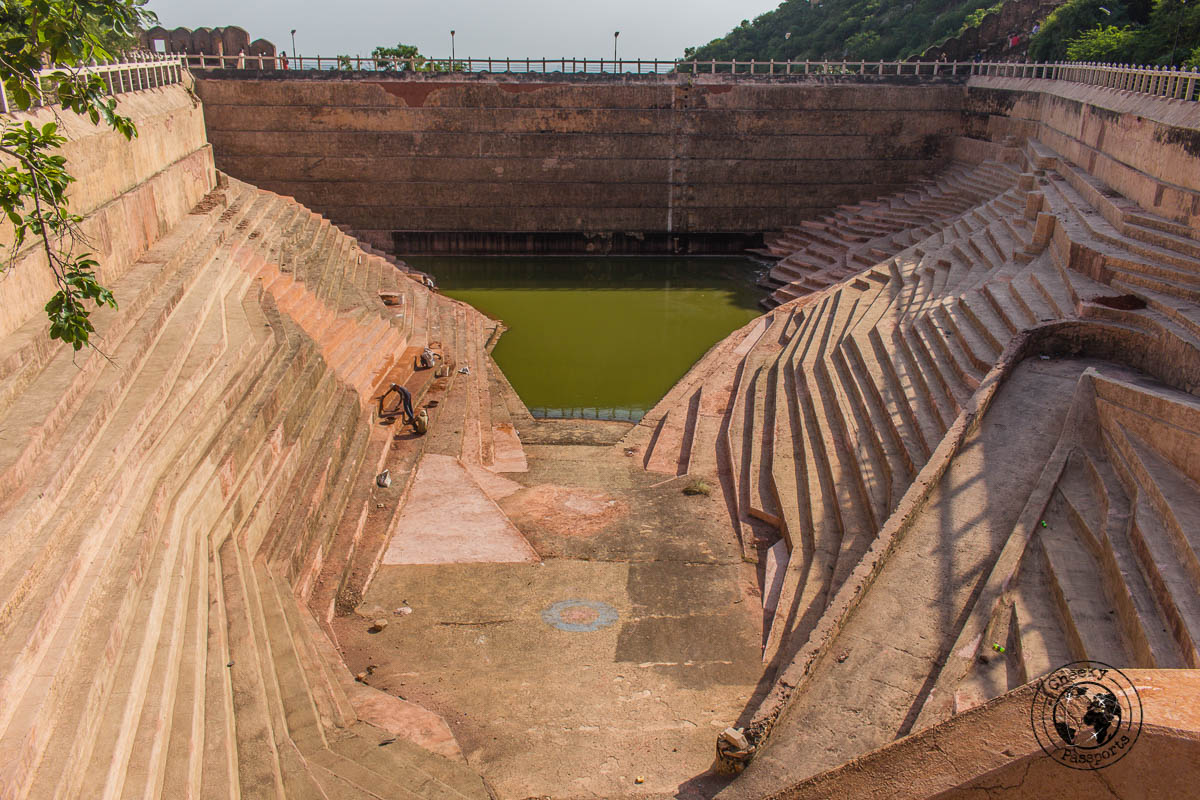Hydrology marvels at the Nahargarh Fort during the heritage water walking tour - The Best Tourist Places in Jaipur