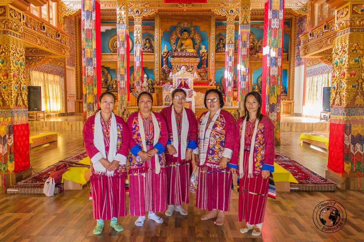 Inside the Dirang Dzong - Explore Dirang and Bomdila in Arunachal Pradesh - Northeast India Travel