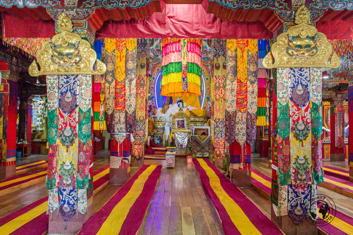 Inside the tawang Monastery - Guide to Sela Pass, Tawang Monastery and other Places to Visit in Tawang