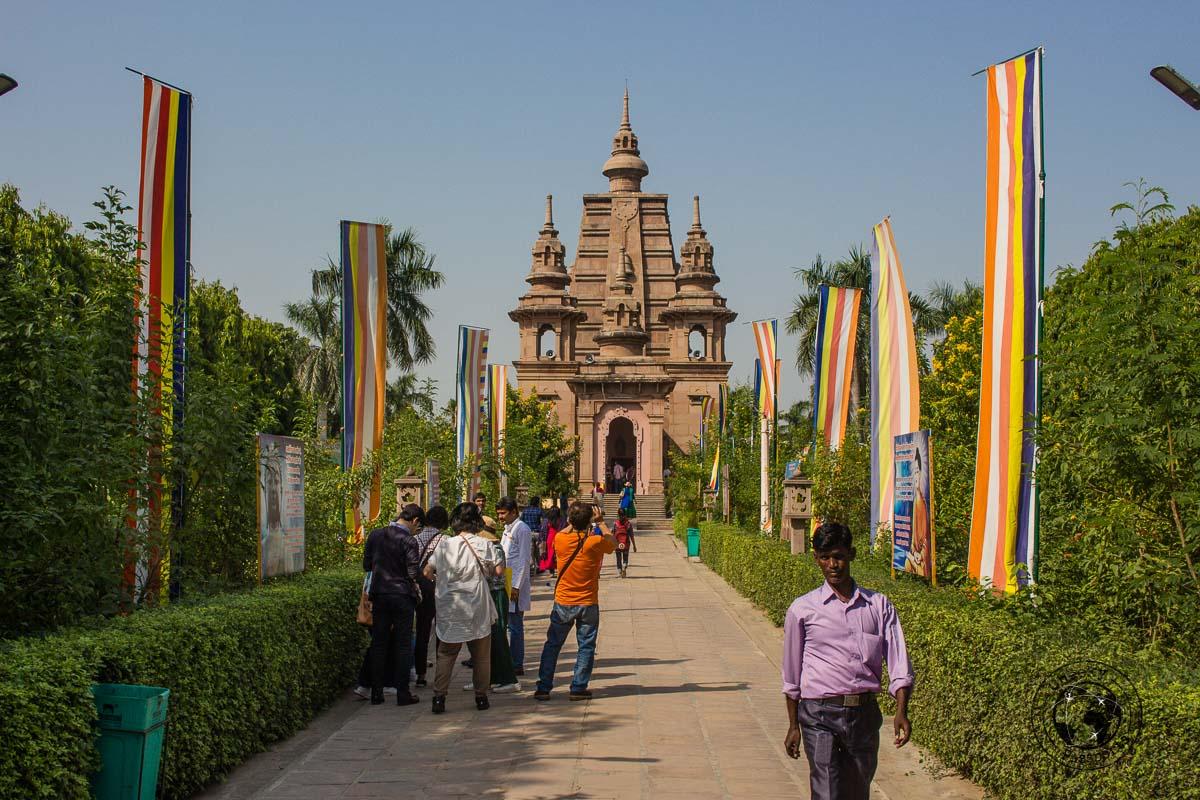 Muglagandha Kuti Vihar Temple in Varanasi