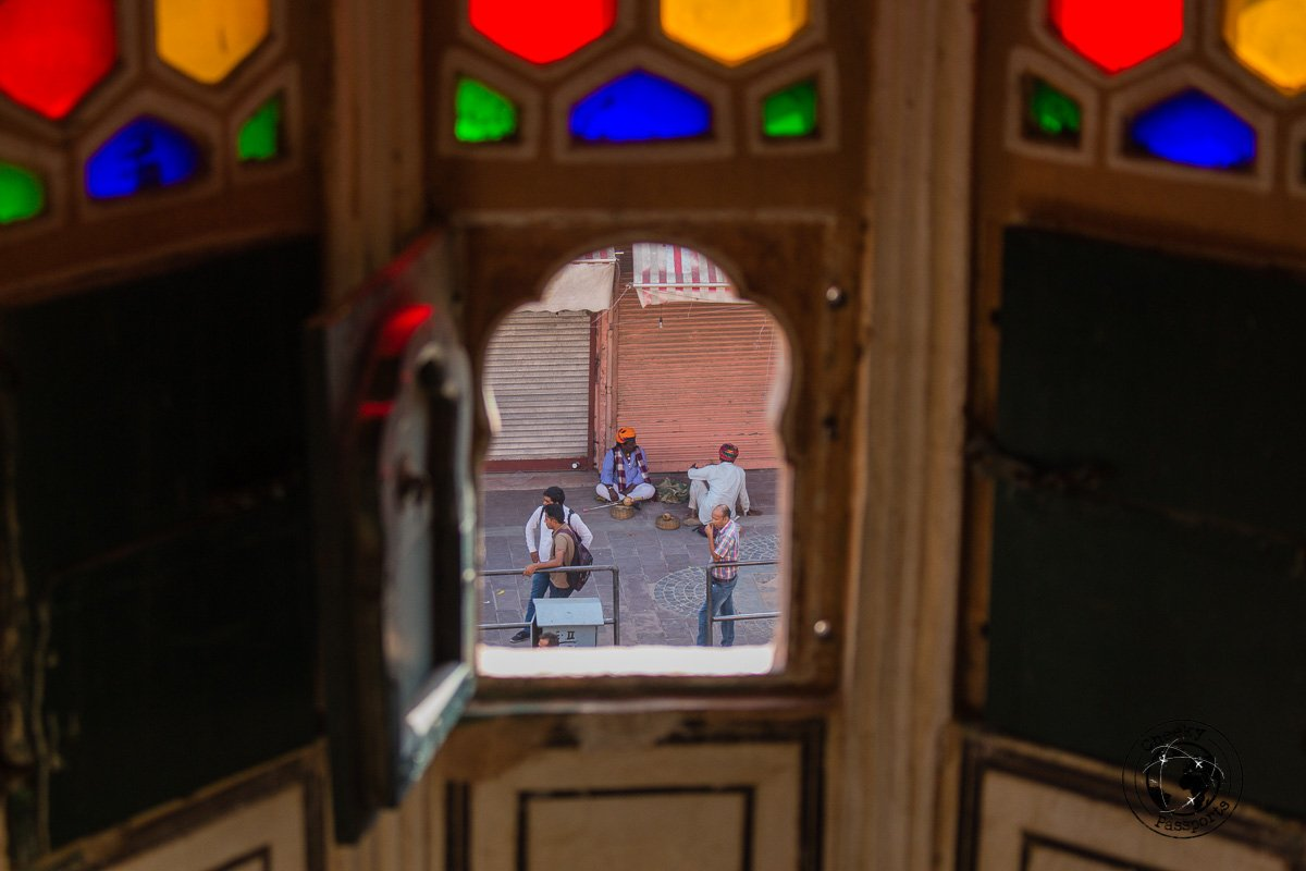 Snooping from the Hawa Mahal windows - The Best Tourist Places in Jaipur