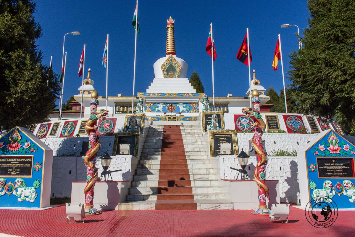 Tawang War Memorila - Guide to Sela Pass, Tawang Monastery and other Places to Visit in Tawang