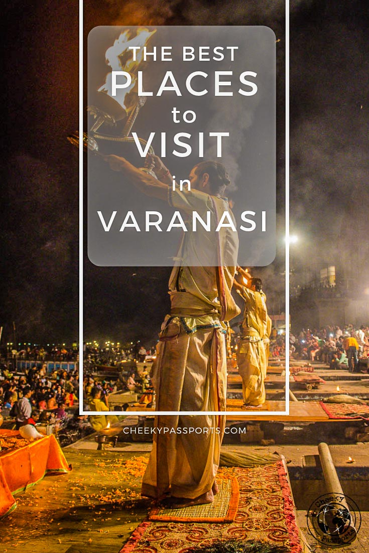 Varanasi is best described as #India on steroids. Don't worry, here's our guide to the best places to visit in #Varanasi with helpful tips and recommedations! #indiatourism #india_undiscovered #incredibleindia #trekkingntravelling #travelrealindia #travelling #cheekypassports