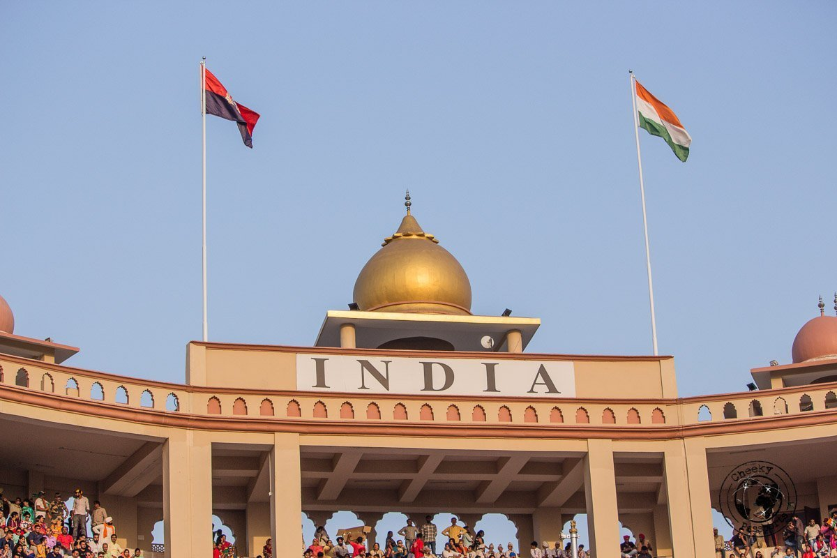 The Wagah Border near Amritsar - Top Places to Visit in Amritsar