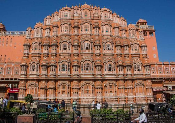 The intricate Hawa Mahal - The Best Tourist Places in Jaipur