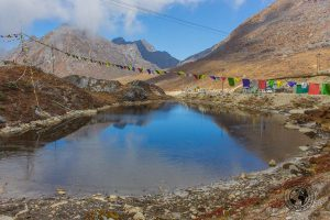 The lake at the Sela Pass on the way to Tawang - Guide to Sela Pass, Tawang Monastery and other Places to Visit in Tawang