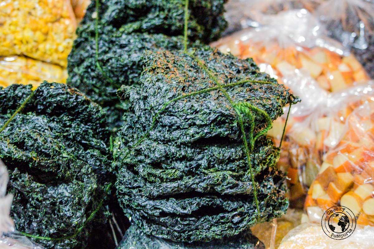 delicacies at the bomdila market - Explore Dirang and Bomdila in Arunachal Pradesh - Northeast India Travel