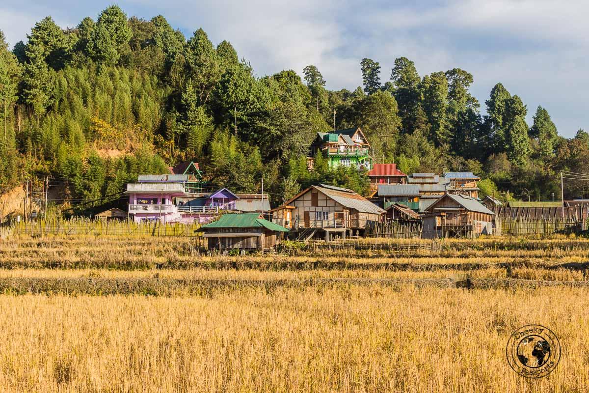 Hari village in Ziro Valley - North East India Travel Guide