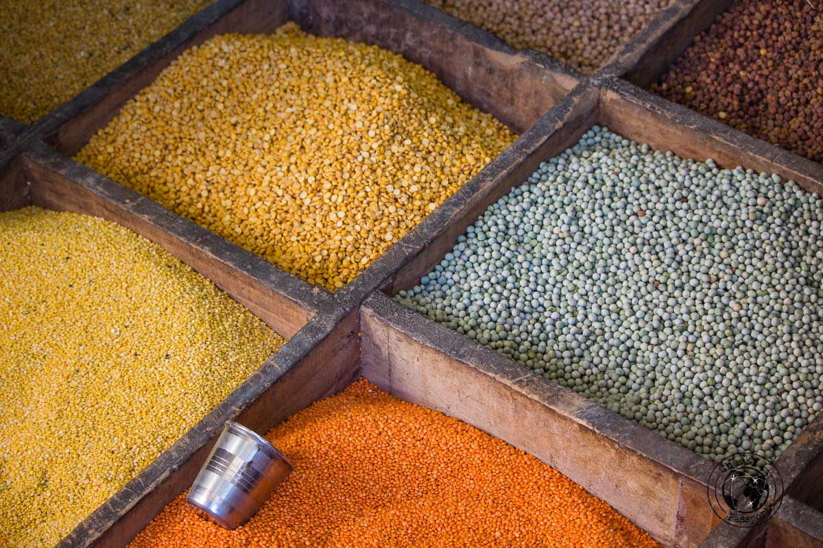 Spices at the Hapoli Market in Ziro, Arunachal Pradesh