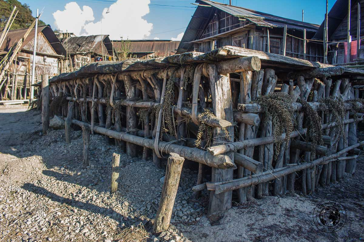 The Lapang at Ziro Valley. This particular example is authentic and protected by Unesco