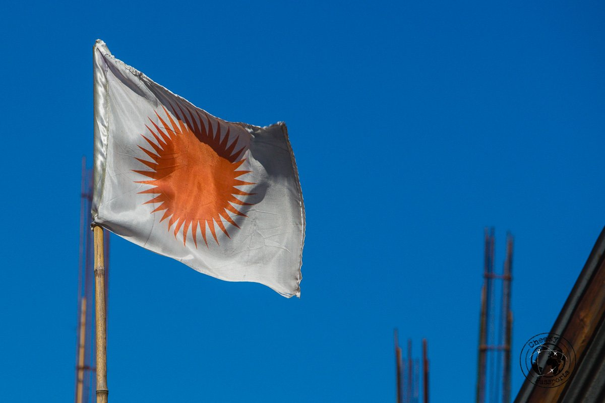 The anemist flag - Discovering Ziro Valley and the Apatani Tribe of Ziro, Arunachal Pradesh