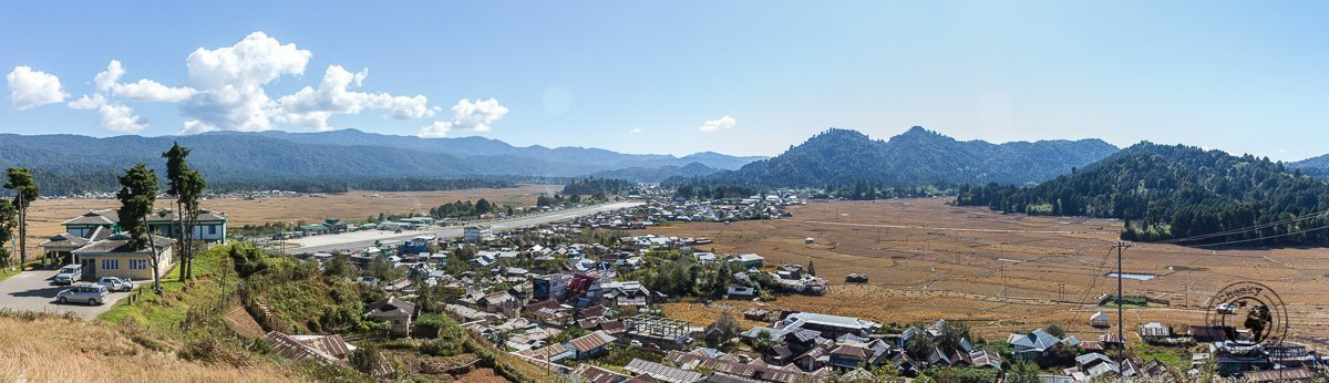 The view from Ziro Putu - Discovering Ziro Valley and the Apatani Tribe of Ziro, Arunachal Pradesh