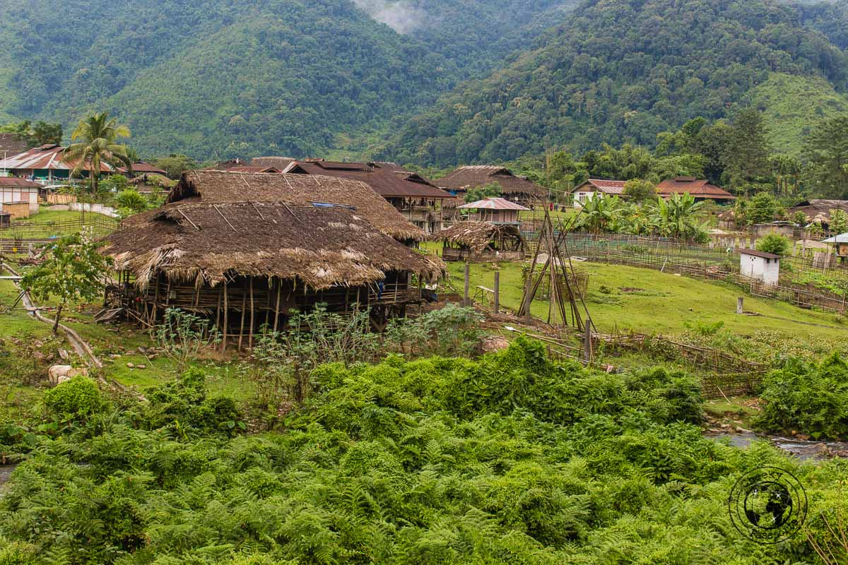 Traditional villages around Aloo - Places to visit in Arunanchal Pradesh Itinerary
