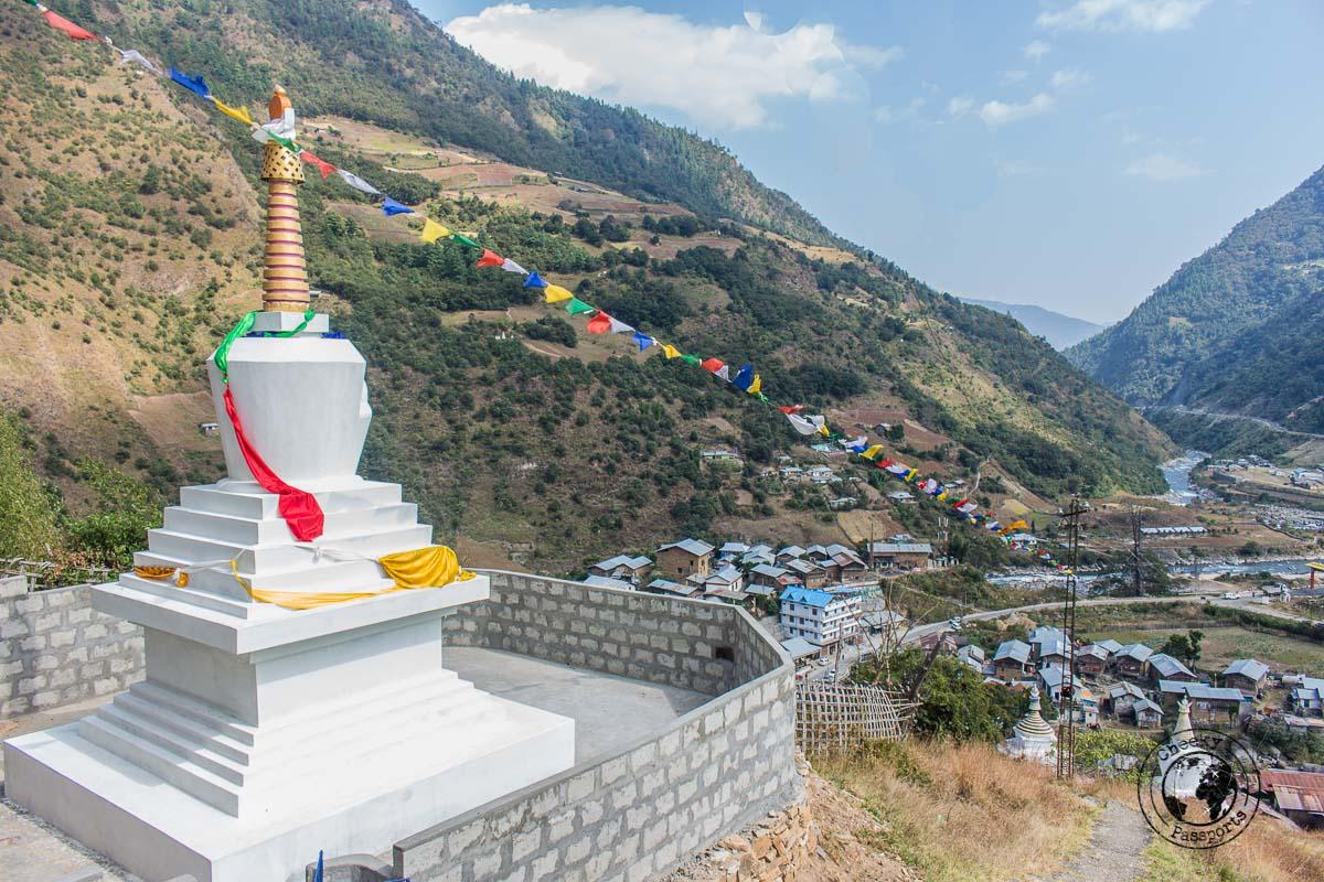 Views of Dirang Valley - Places to visit in Arunanchal Pradesh Itinerary