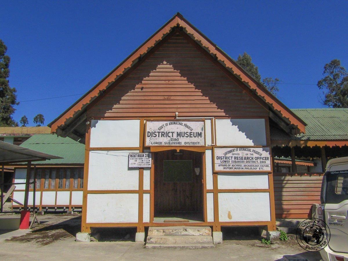 Ziro Valley District Museum entrance