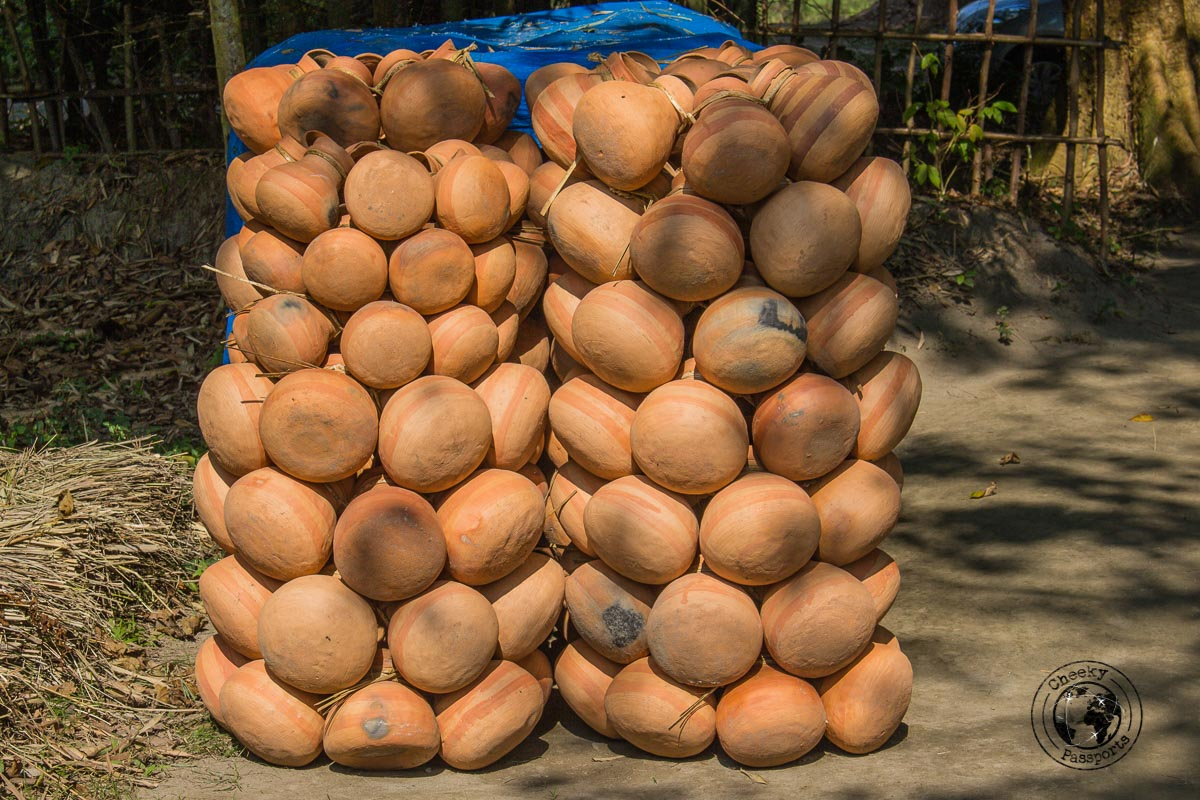 Making of clay pots in Majuli - The Magic of Majuli Island – One of the Best Places to Visit in Assam