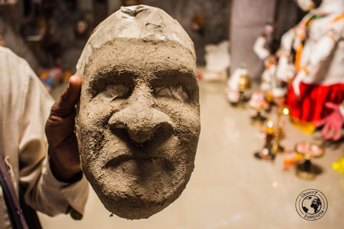 Making of masks in Majuli - The Magic of Majuli Island – One of the Best Places to Visit in Assam