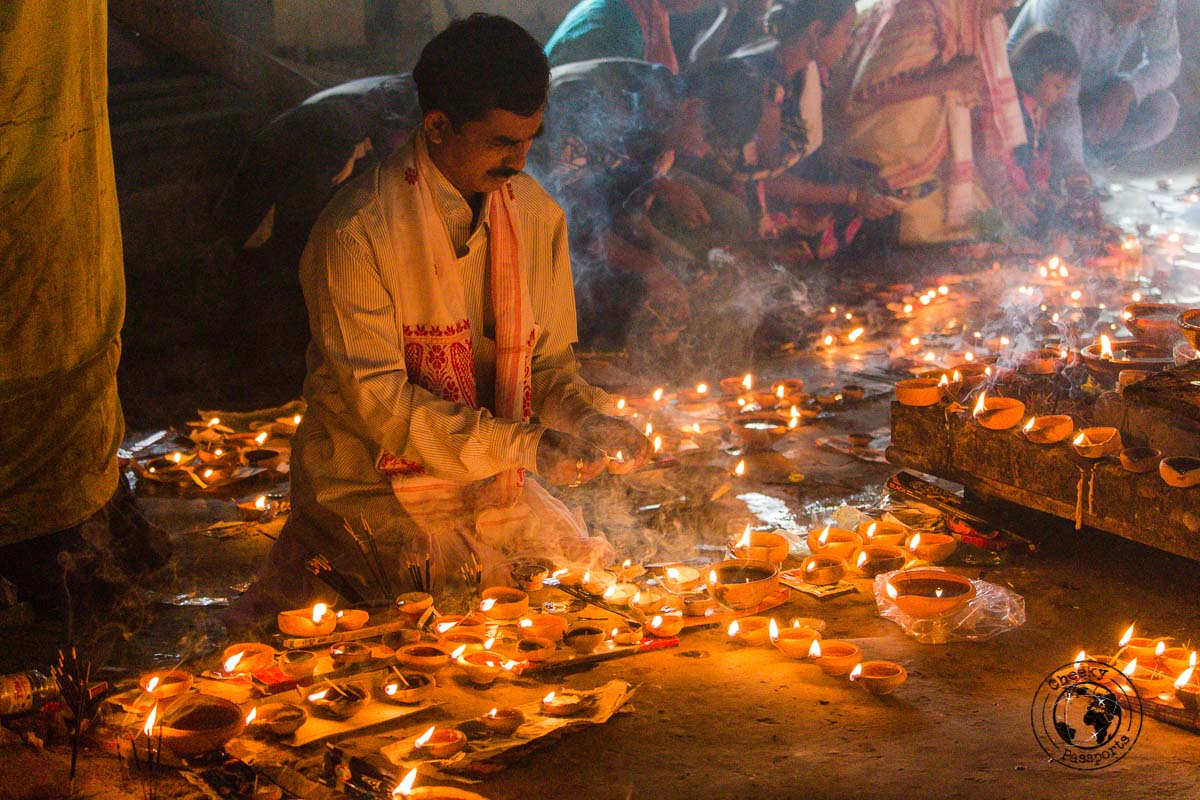 Temple celebrations in Majuli - North East India Travel Guide