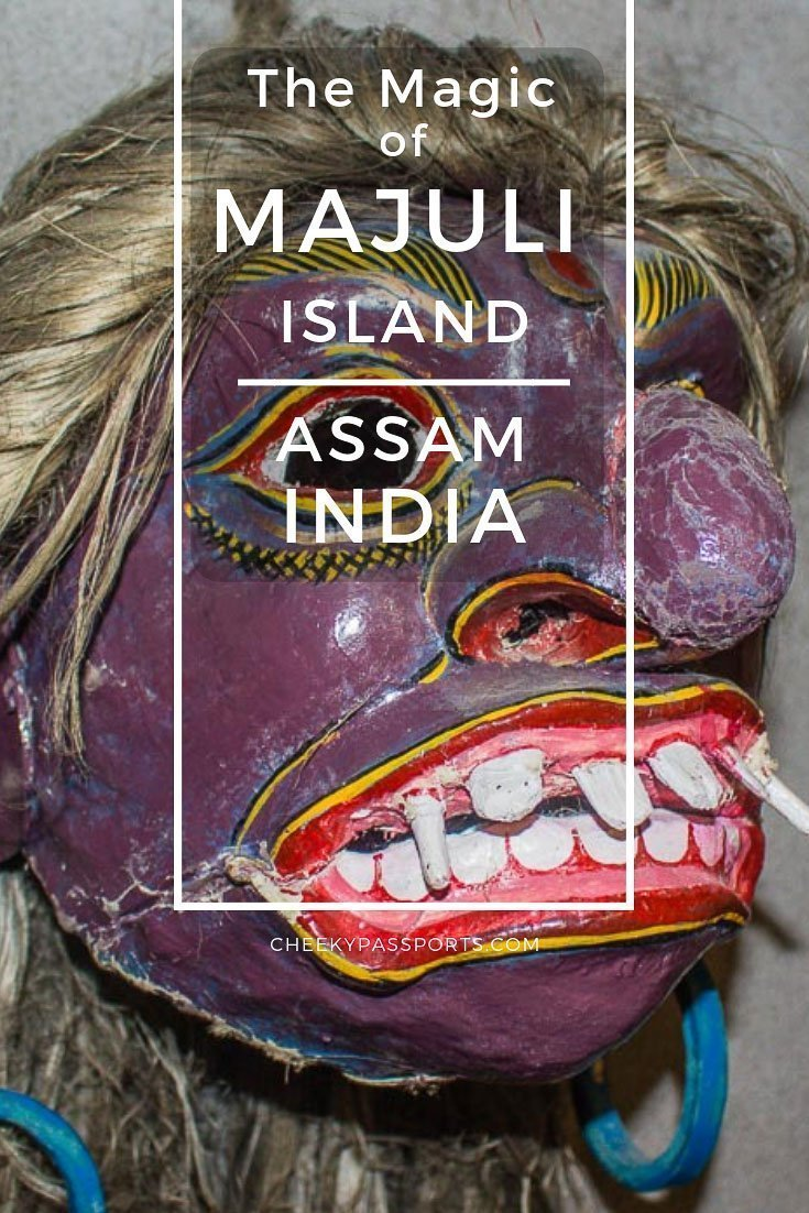 Majuli island, the world's largest #river island is one of the best places to visit in #Assam, with #spectacular #scenery. Follow our #guide to #Majuli island! #awesomeassam #IncredibleIndia #northeastindia #travelcouple #beautifuldestinations #indiatravel #backpacking #backpackerlife #travelawesome #travelblog #cheekypassports